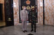 Panglima TNI Terima Kunjungan Pejabat Pertahanan AS