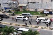 Kendari Rusuh, Ratusan Massa Mengamuk dan Rusak Sejumlah Tempat