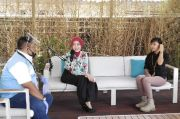 Ngopi Sore Bareng Atalia, BNN Kota Bandung Kampanyekan #hidup100persen