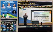 BPJamsostek Surabaya Rungkut Gelar Kegiatan Webinar Relaksasi Iuran