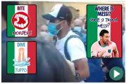 Tiba di Italia, Luis Suarez Disoraki dan Dicibir Suporter
