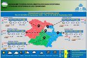 Bandung Raya Berawan, Suhu Minimum 19 Derajat Celsius