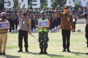 Bareng Polda Jateng, Komisi III DPR Bagi 36 Ribu Masker