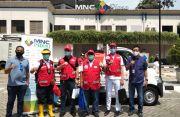 PMI DKI Lakukan Penyemprotan Disinfektan di Area Perkantoran MNC Group