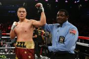 Pembuktian Zhang Zhilei Raksasa Raja KO dari China Tak Terkalahkan