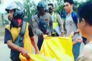 Asyik Main HP saat Bawa Motor, Pemuda Palembang Tewas Terlindas Truk
