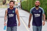 Arturo Vidal Tiba di Inter Hari Ini, Messi Ucapkan Pesan Menyentuh