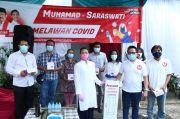 Saraswati Serahkan Alat Rapid Test dan Swab Antigen Covid-19 di Tangsel