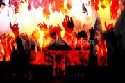 Dinamo Korslet, Angkot Cicaheum-Leuwipanjang Terbakar Dekat RSIA Bandung