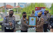 Ditlantas Polda Jateng Ciptakan Rekor Talk Show 6 Daerah di Jawa Tengah