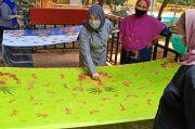Elemwe Terus Bina Warga Rusunawa Tambora Kembangkan Batik Betawi