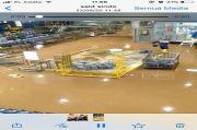 Demi Keselamatan Karyawan, Pabrik Aqua yang Diterjang Banjir Ditutup