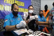 BNNK Tasikmalaya Bekuk Pengedar Sabu dengan BB 103 Gram Sabu Asal Myanmar