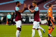 Tanpa David Moyes dan Dua Pemain Terinfeksi Covid-19, West Ham Lolos Usai Bantai Hull City