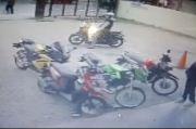 Viral, Pencurian Motor Sport Terekam CCTV Minimarket Plumpang