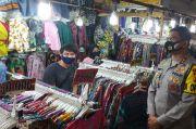 Kapolda Pantau Pasar Baru Bandung, Imbau Pedagang-Pembeli Patuhi Prokes