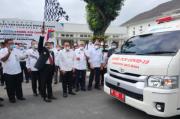 Gubernur Sumut Berangkatkan Mobil PCR COVID-19 ke Batubara