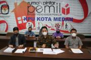 Sah, KPU Tetapkan Boby-Aulia dan Akhyar-Salman Paslon Pilkada Medan