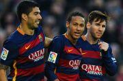 Luis Suarez, Messi dan Neymar Pernah Jadi Trisula Menakutkan