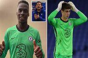 Resmi Pindah ke Chelsea, Ini Kelebihan Mendy ketimbang Kepa Arrizabalaga