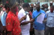 Warga Papua Demo Desak Presiden Percepat Pemekaran Provinsi Papua Barat Daya