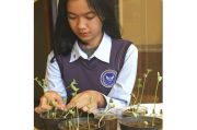 Wujudkan Green School, SMA Pradita Dirgantara Kembangkan Bank Kedelai