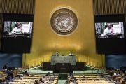Raja Salman Serang Iran dalam Debut Sidang Umum PBB