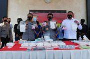 Polisi Gagalkan Peredaran 13,8 Kg Sabu dan 2.2994 Pil Ekstasi