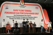 KPU Medan Tetapkan Akhyar-Salman Nomor Urut 1, Bobby-Aulia Nomor Urut 2