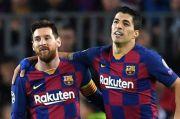 Tendang Luis Suarez, Messi Kecam Barcelona