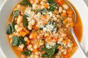 Resep Sup Kacang Putih dan Sayuran, Menyehatkan di Kala Hujan