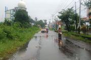 Hujan Lebat Disertai Kilat dan Petir Landa Wilayah Sulut