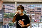 Aktivis Demokrasi Hong Kong Joshua Wong Ditangkap