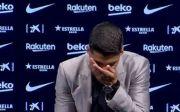 Luis Suarez Menangis Tersedu-sedu Tinggalkan Latihan Barcelona
