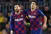 Kata Messi, Luis Suarez Diusir dari Barcelona
