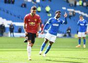 Penalti di Menit Akhir Bantu Manchester United Menang atas Brighton