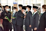ASN Harus Netral di Pilkada, Gubernur Sumut Lantik 10 Pjs Bupati - Walikota