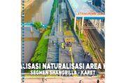 Via IG, Anies Pamer Realisasi Naturalisasi Sungai Segmen Shangrilla-Karet
