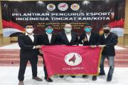 Pengurus Besar E-Sports Indonesia Tingkat Kota Cirebon Dilantik