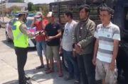 PJR Tol Polda Jatim Terapkan Penindakan Humanis Saat Pandemi COVID-19