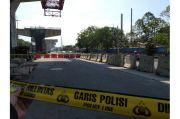 Viral! Pemotor Tewas Tertimpa Konstruksi Pembangunan Tol Kelapa Gading-Pulo Gebang