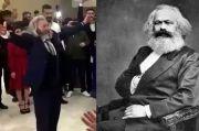 Viral, Pria Mirip Bapak Komunis Karl Marx Muncul di Pesta Nikah Turki