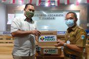 MNC Peduli Salurkan Makanan dan APD ke Puskesmas Tamansari dan Kelapa Gading