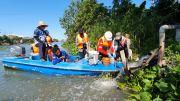 Susuri Kali Surabaya, Tim Patroli Air Temukan 5 Industri Buang Limbah di Sungai