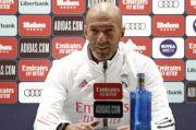 Stop! Zidane Ogah Bicara Soal Pemain Baru
