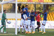Babak I: Lukaku dan Hakimi On Fire, Bawa Inter Ungguli Benevento 4-1