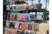 Pemakaian Masker Scuba Dilarang, Omzet Pedagang di Pasar Bali Mester Turun 50%
