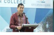 Orientasi Mahasiswa MNC College, Mahasiswa Belajar Langsung dari Hary Tanoesoedibjo