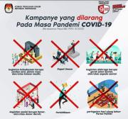 Pandemi COVID-19 Belum Reda, Kampanye Pilkada Sepi