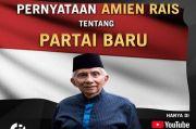 Amien Rais Umumkan Partai Ummat, PAN Anggap Resmi Keluar